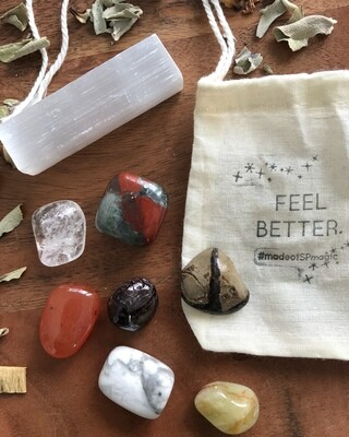 "The ""Feel Better"" Crystal Blend Set"