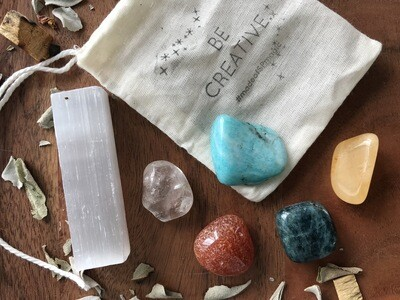 "The ""Be Creative"" Crystal Blend Set"