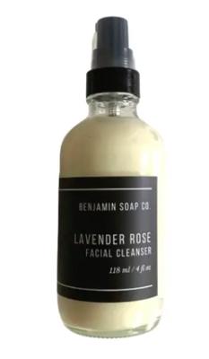 Lavender Rose Facial Cleanser