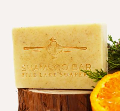 Cedarwood and Sweet Orange Shampoo Bar