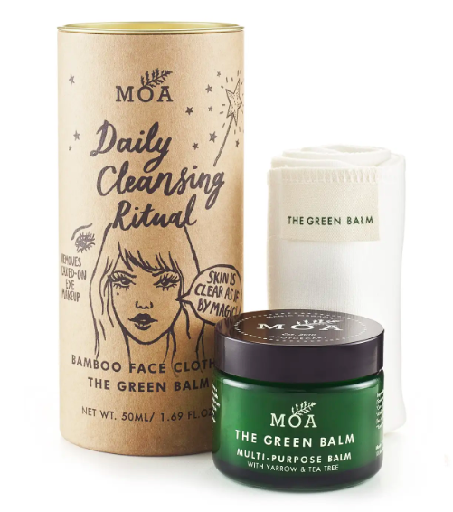 Daily Cleansing Routine with Bamboo Cloth