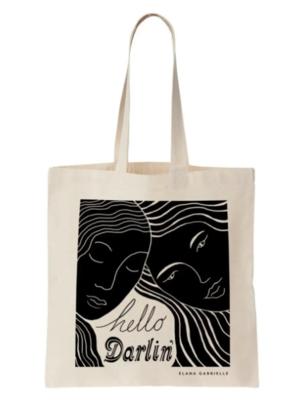Hello Darlin' Tote Bag