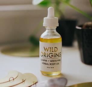 Juniper and White Pine Body Oil