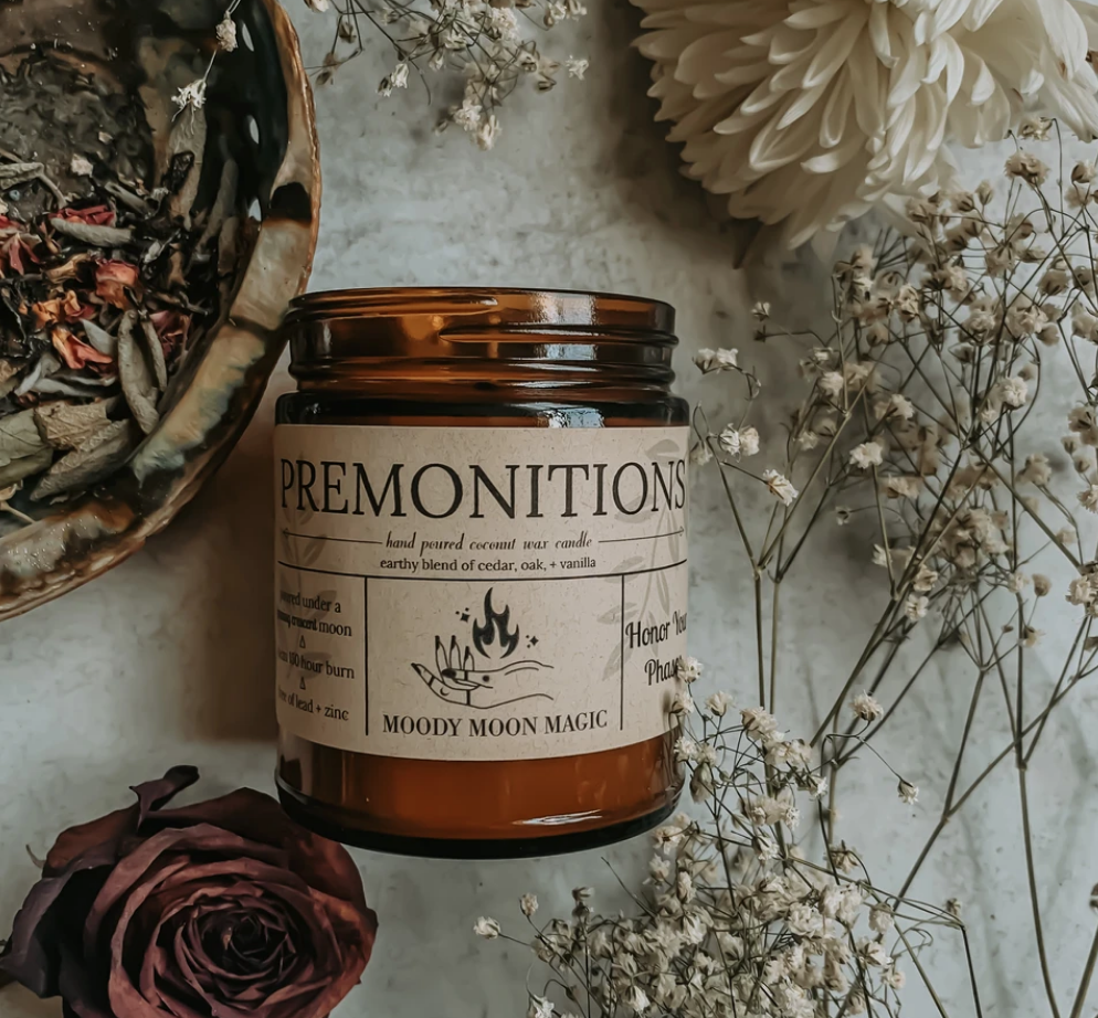 Premonitions Herbal Candle