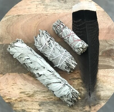 California White Sage Smudge Bundle (3 sizes)