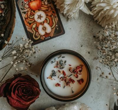 Enchantress Herbal Candle