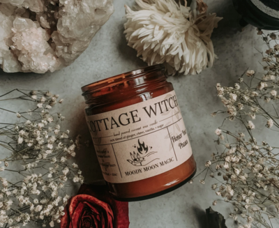Cottage Witch Herbal Candle