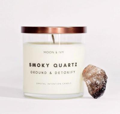 Smoky Quartz Candle