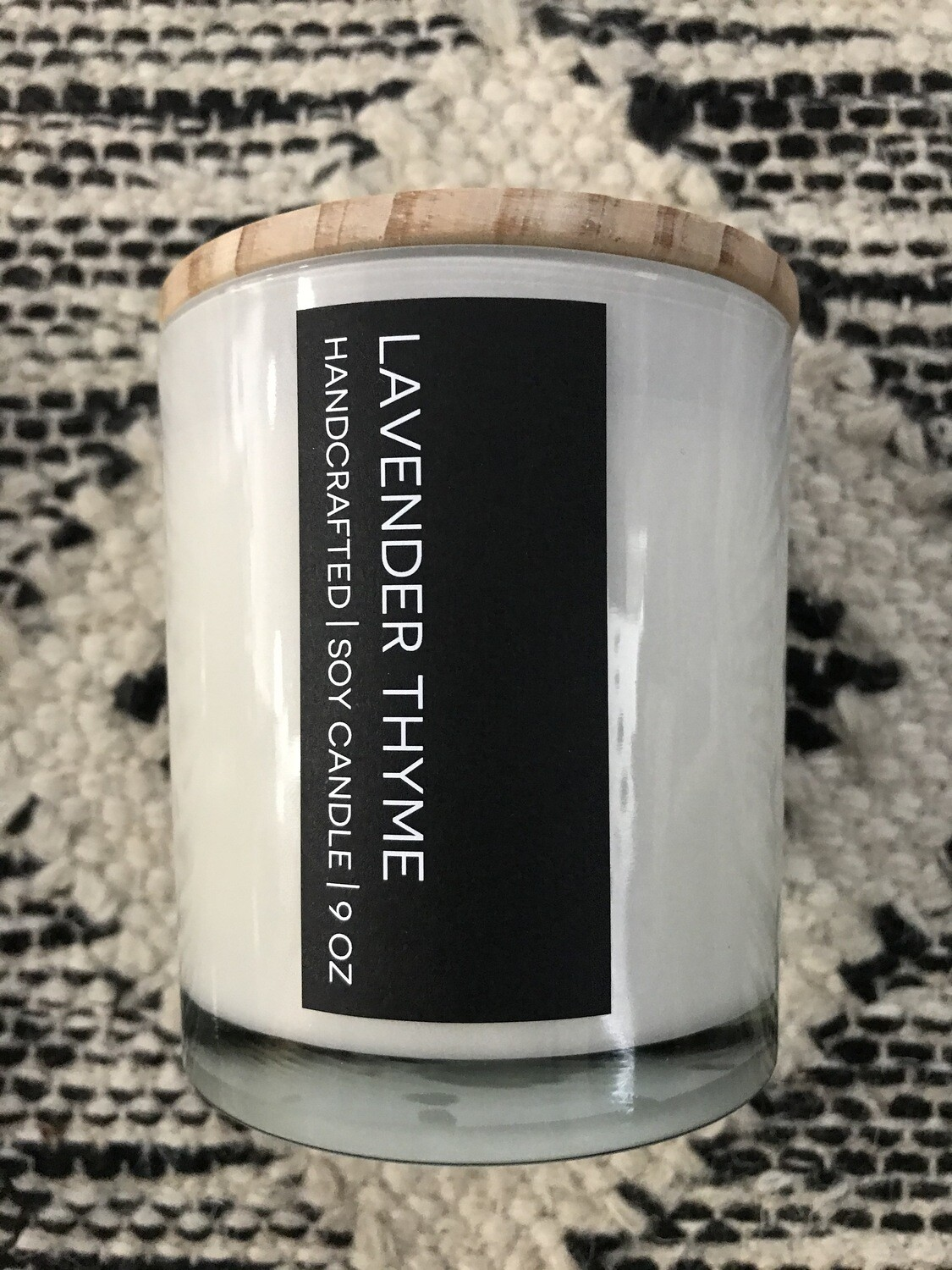 Lavender Thyme Soy Candle
