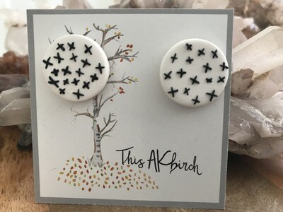 Starry Night Earrings - Made in AK