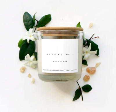 Moonstone Essential Oil Candle