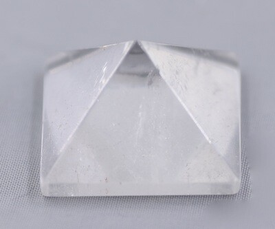 Clear Quartz Pyramid - Small