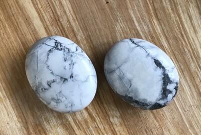 Howlite Worry Stone