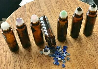 Crystal Roller Bottles