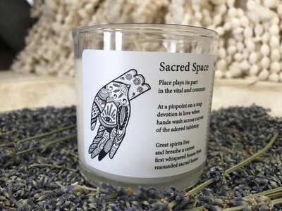 Sacred Space Body Massage Candle