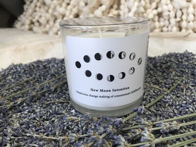 New Moon Release Body Massage Candle