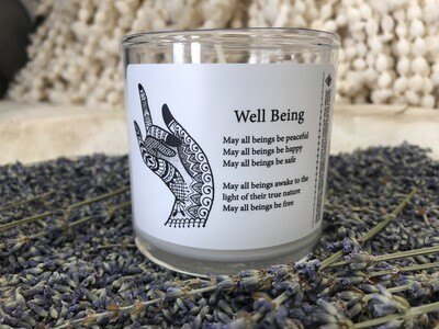 Well Being Body Massage Candle