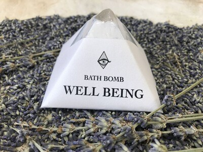 Crystal Infused WELL BEING Bath Bomb