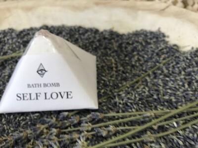 Crystal Infused SELF LOVE Bath Bomb