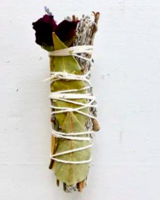 Be Calm Blue Sage Ritual Bundle/Smudge Stick