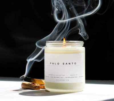 Palo Santo Essential Oil Candle
