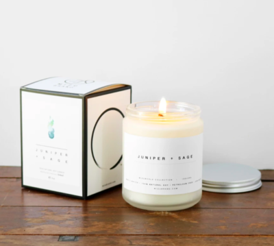 Juniper + Sage Soy Candle