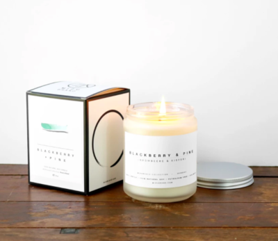 Blackberry + Pine Soy Candle