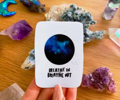 Breathe In Vinyl Sticker