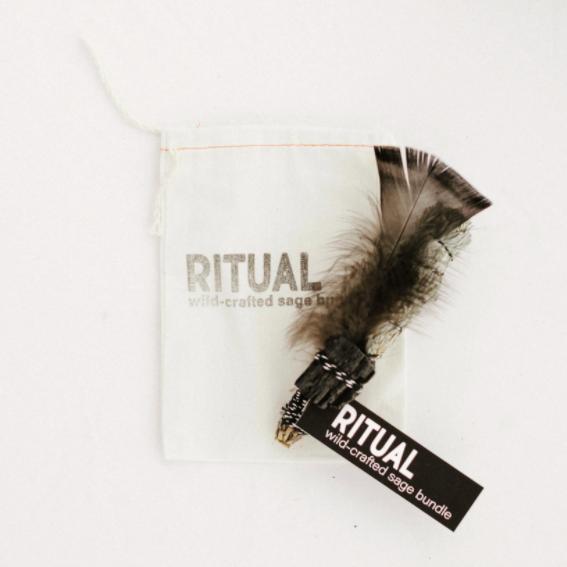 Ritual - Wildcrafted Sage Bundle - Black Tourmaline