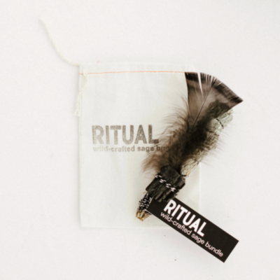 Ritual - Wildcrafted Sage Bundle - Black Tourmaline