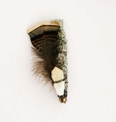 Ritual - Wildcrafted Sage with Juniper Bundle - Citrine