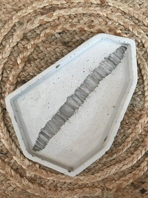 S|P Crystal Infused Concrete Geometric Catch-all