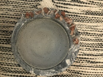S|P Crystal Infused Concrete Mother Moon Vessel
