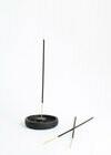 Blackened Oak Incense Holder - Round