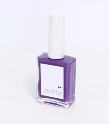 Amethyst Vegan High Vibe Nail Polish