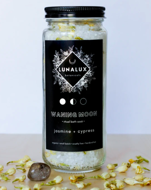 Waning Moon - Jasmine and Cypress Salt Soak