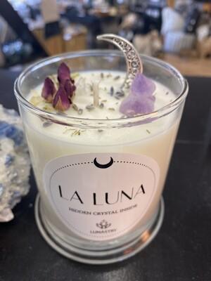 La Luna Soy Candle by Lunastry