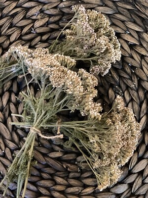 Dried Alaskan Yarrow Smudge Bundle