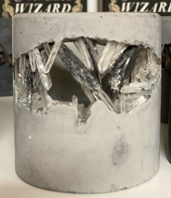 S|P Crystal Infused Concrete Votive Vessel