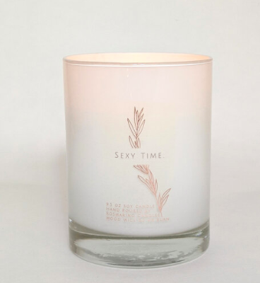 Sexy Time  9.5 oz Wood Wick Candle