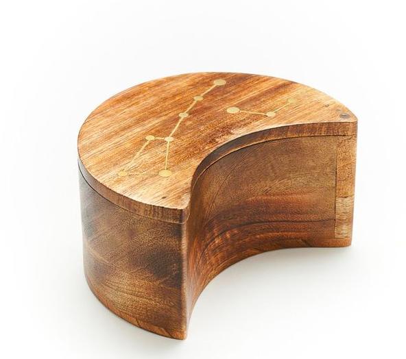 Constellation Pivot Mango Wood Box