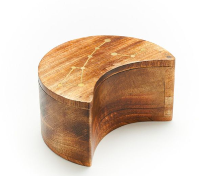 Constellation Pivot Mango Wood Box
