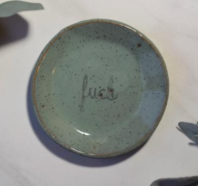 Mini F*ck Ceramic Catch-all