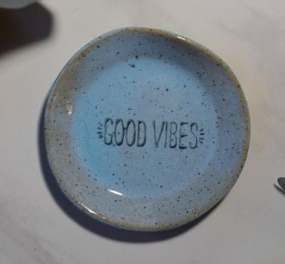 Mini Good Vibes Ceramic Catch-all