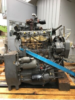 Motor MWM 3 Zylinder D226/3 TURBO DEFEKT