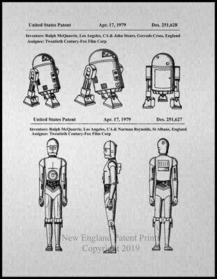 Star Wars R2-D2 & C-3PO - Framed