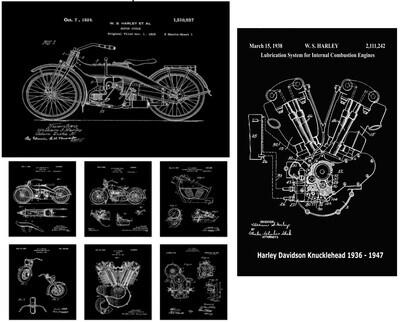 Harley Davidson Fan Collection - Black