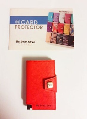 Card Protector COLOR - We Positive