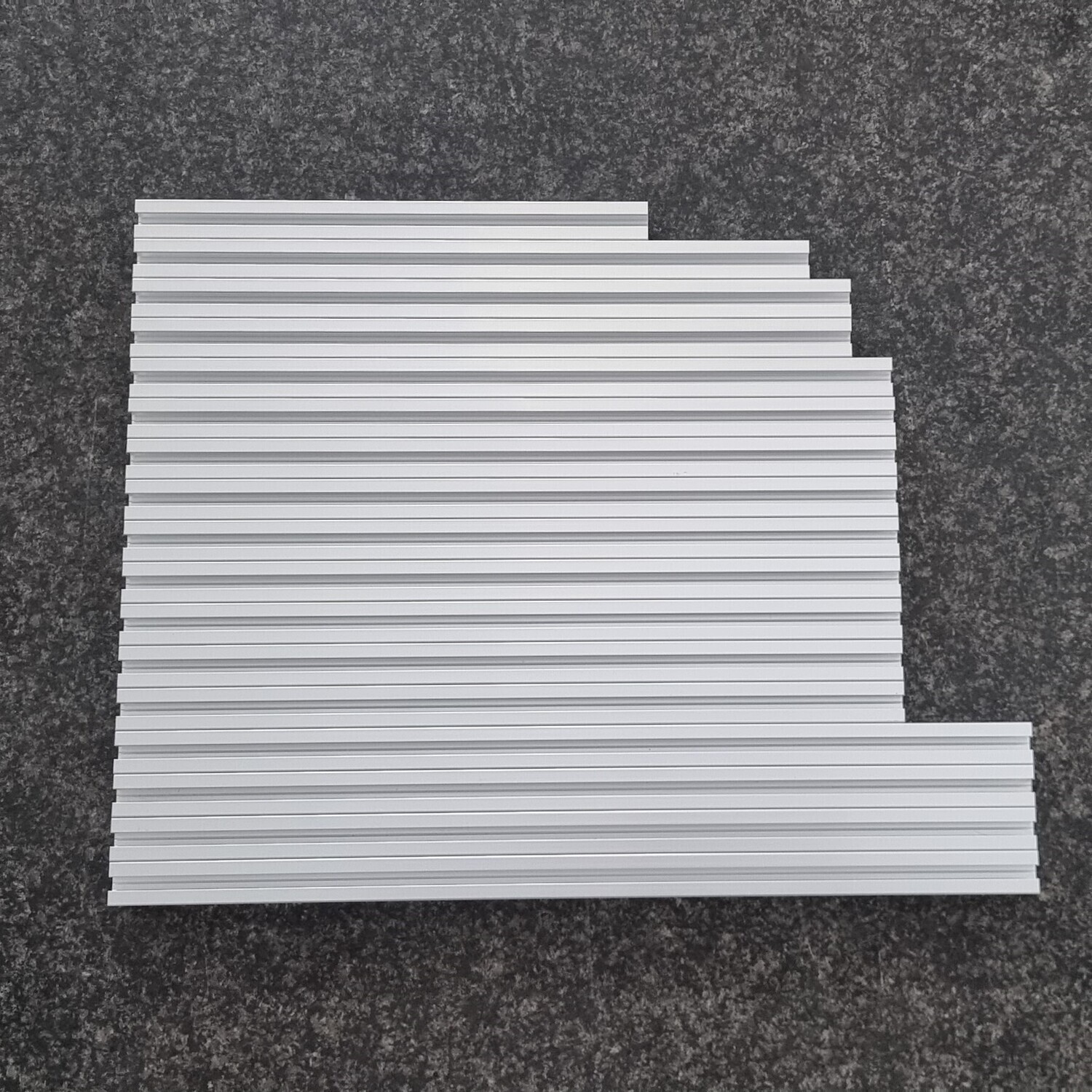 Misumi T Slot Set for Voron 2.4 (300mm, CLEAR Anodized)