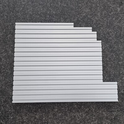 Misumi T Slot Set for Voron 2.4 (350mm, CLEAR Anodized)